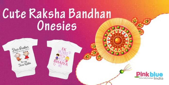 Raksha Bandhan Onesies, Rakhi Bodysuit, Rakhi Gifts Brother Sister