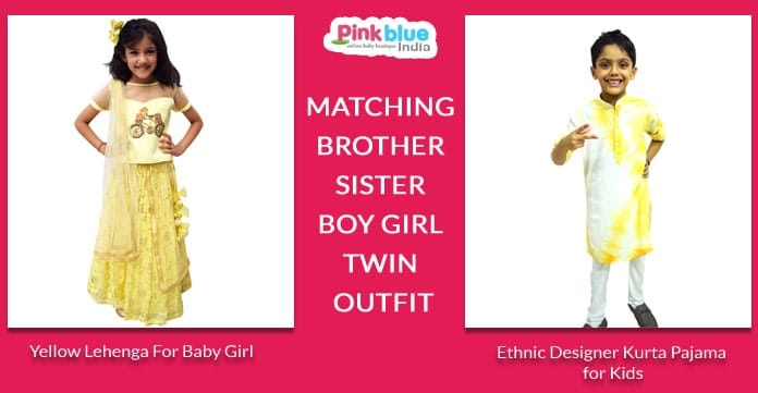 Same Dress for Brother and Sister Online, Kids Sibling Dresses, Twinning Dresses