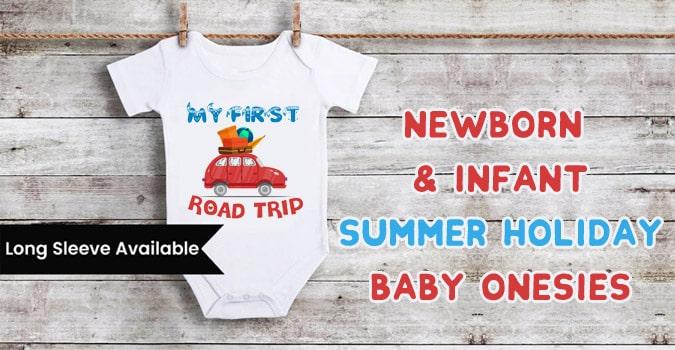 Road Trip Baby Onesie, Romper, Bodysuit