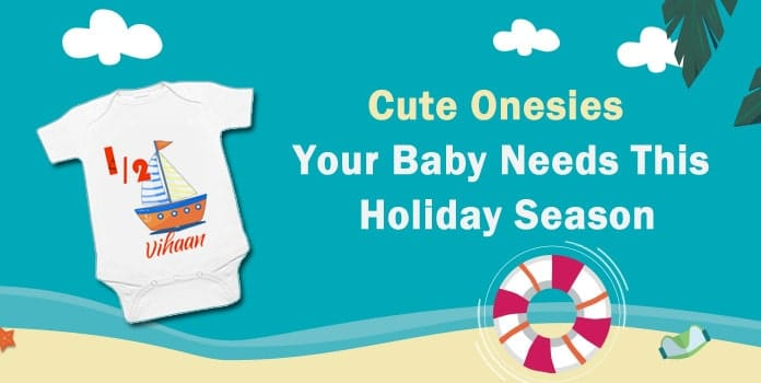 Cute Holiday Baby Onesies, First Vacation Trip Bodysuit, Summer Vacation Onesie
