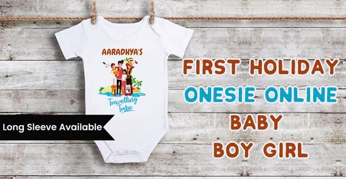 First Holiday Baby Boy Girl Onesie Online