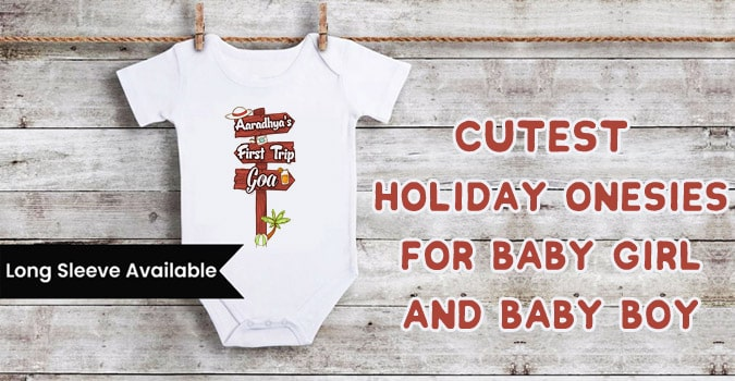 Cutest Holiday Onesies for Baby Girl and Baby Boy