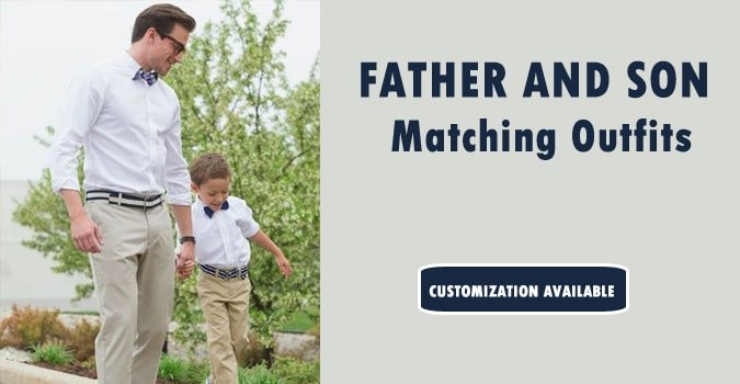Father and Son Matching Outfits India