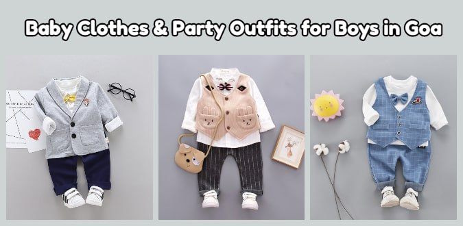 Baby Boy Clothes, Boys Party Outfits Online in Goa
