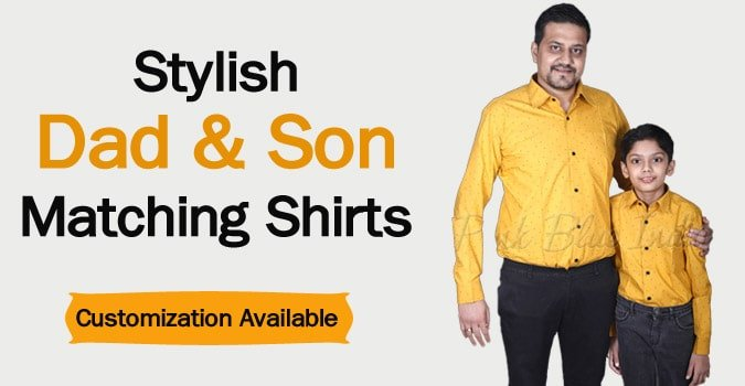 Dad and Son Shirts Online