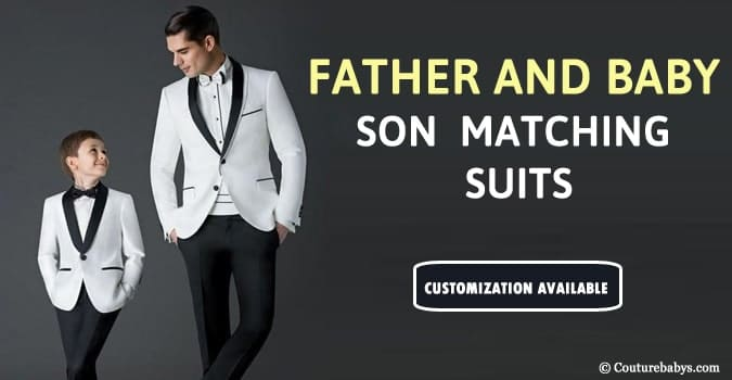 Father and son matching suits, Formal Wedding Suit Online