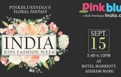 Pink Blue India Showcase Their Collection at India Kids Fashion Week in Jaipur