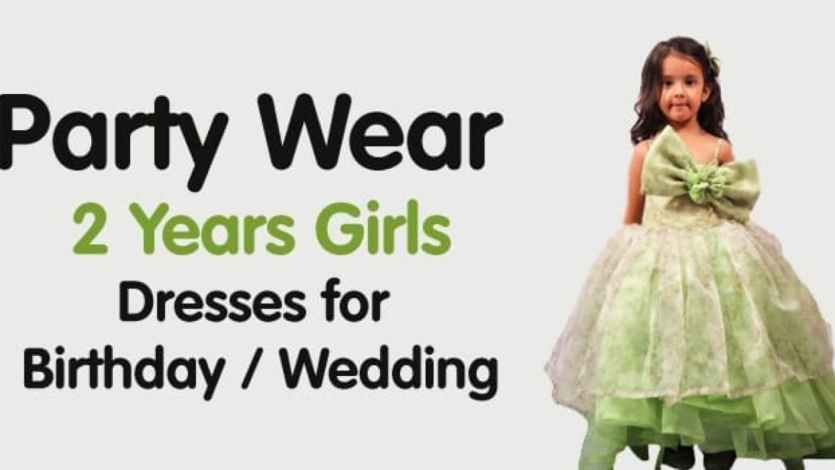 6 Party Wear 6 Years Girls Dresses for Birthday / Wedding