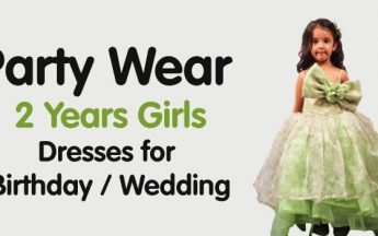15 Party Wear 2 Years Girls Dresses for Birthday / Wedding