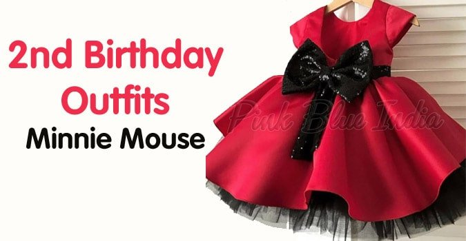 2nd Birthday Outfits Minnie Mouse