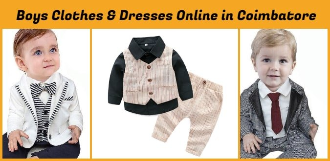 Kids Clothes, Boys Party Dresses Online in Coimbatore