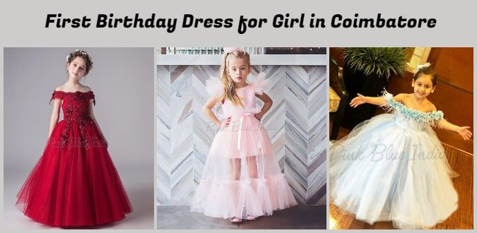 Baby Girl First Birthday Dress in Coimbatore