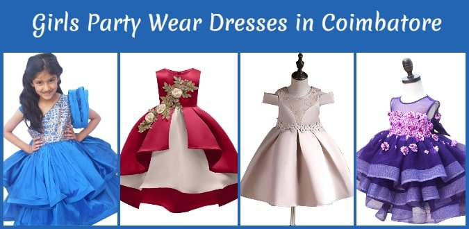 Girls Party Wear Frocks in Coimbatore, Baby Girl Dresses