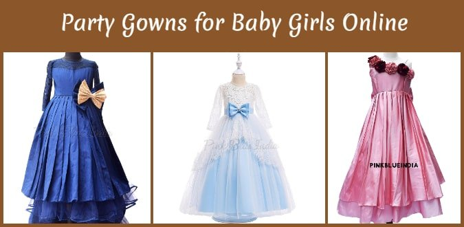Coimbatore Party Gowns for Baby Girls