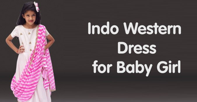 Indo Western Dress for Baby Girl