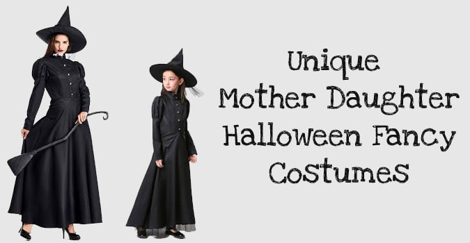 Mother Daughter Halloween Costumes - Mommy and Me Fancy Dress