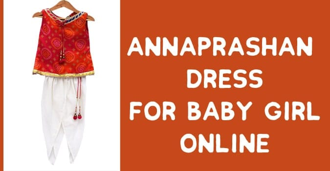 Annaprashan Dress for Baby Girl Online
