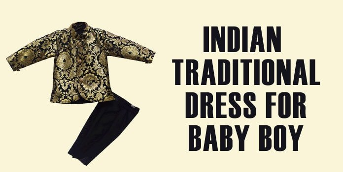 Indian Traditional Dress for Baby Boy
