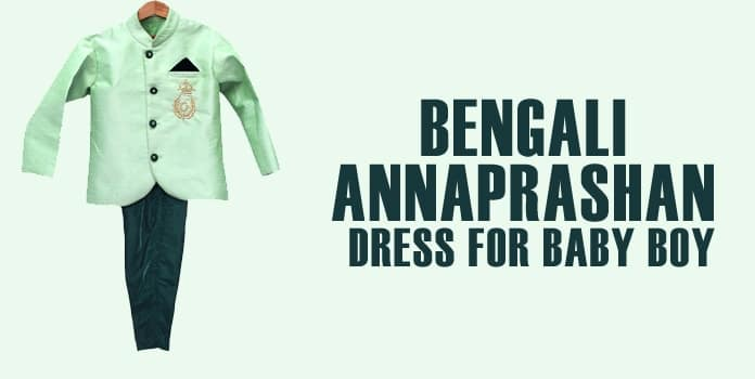 Bengali Annaprashan Dress for Baby Boy