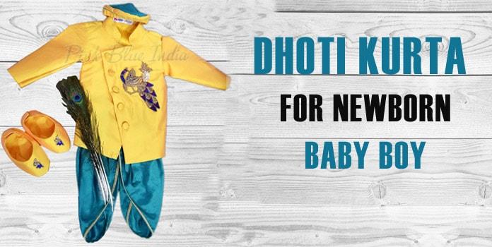 Dhoti Kurta for Newborn Baby Boy