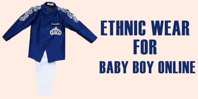 Baby Boy Ethnic Wear Online, Annaprashan Dress India