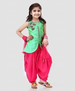 Latest Baby Girl Punjabi Style Patiala Suit