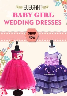 baby girl wedding dresses india