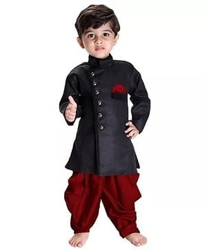 Baby Boy Punjabi Outfit Dress