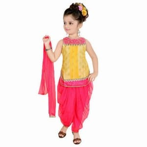 Punjabi Patiala Suit for Girls at Wedding
