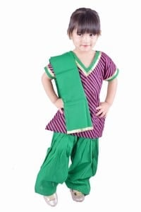 Punjabi Suit for Little Girl