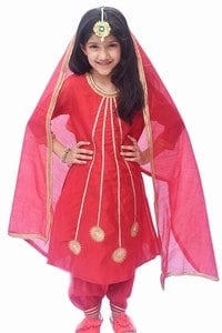 Girls Punjabi Suit Party Wear Online
