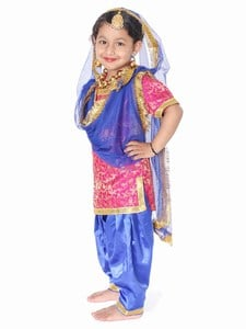 Baby Girl Punjabi Traditional Dress
