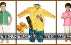 South Indian Traditional Dress for Baby & Toddler Boys
