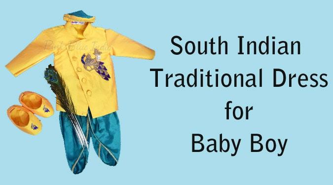 Baby Boy South Indian Dress - Kids Ethnic wear
