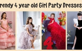 Trendy 4 year old Girl Party Dresses – 4th Birthday Outfits