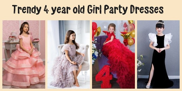 4 year old Girl Party Dresses - 4th Birthday Outfit Baby Girl Dress