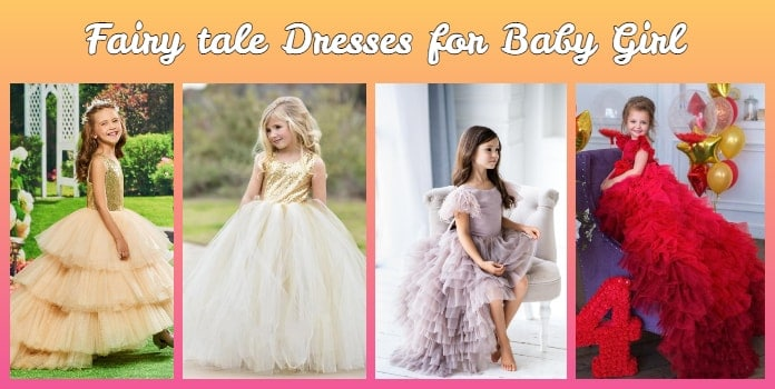 Baby girl fairytale dresses - Princess Fairytale Gowns, Fairytale Dress Online India