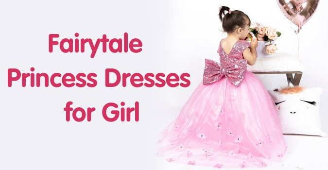 Girls Fairytale Princess Dresses - Fairytale Party Dress