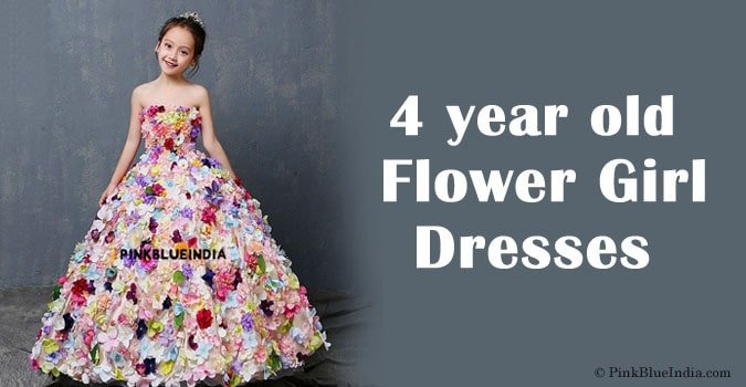 4 year old Flower Girl Dresses, Kids Party Dress