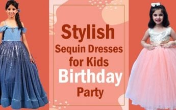 Stylish Sequin Dresses for Kids Birthday Party – Sequin Dress India