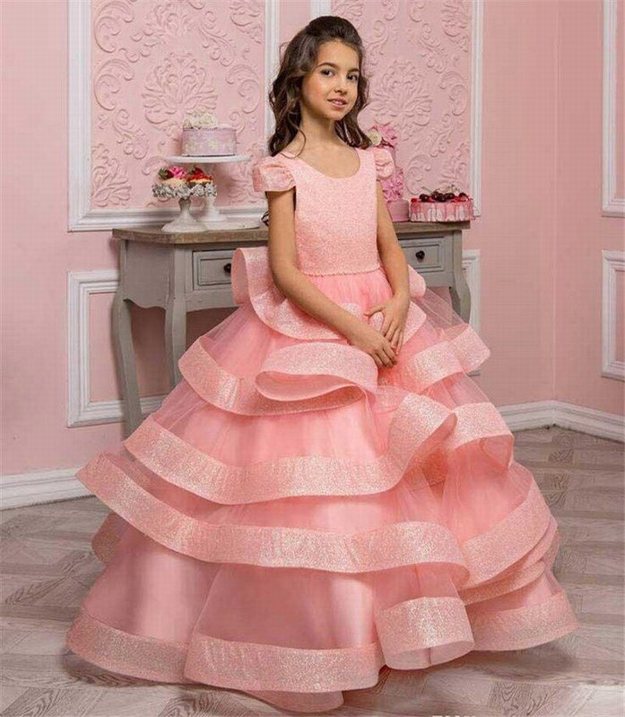 Kids Sequin Party Dress