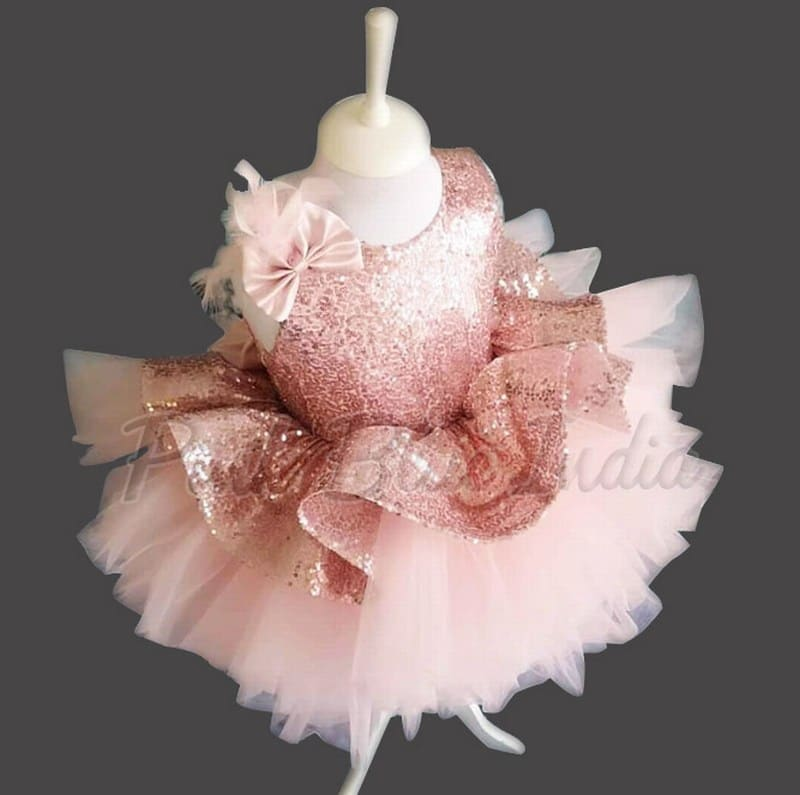 Sequin Baby Dress party Wear