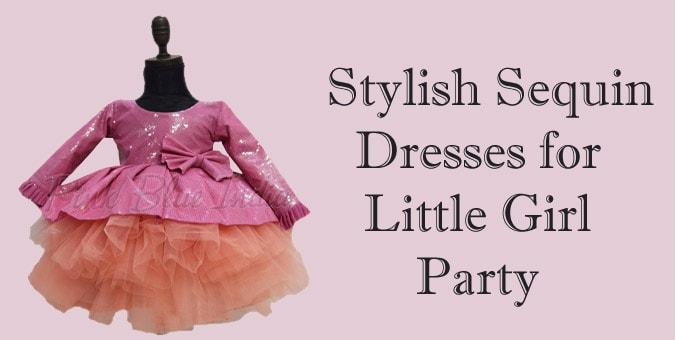 Sequin Dress for Little Girl