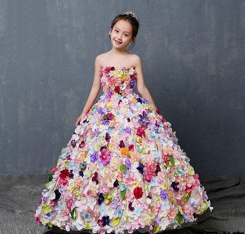 Teenager Flower Girl Dresses, Teenager Gown