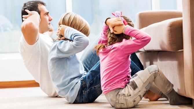 coronavirus India - family exercise - Active Body
