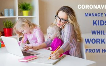 Coronavirus in India: Manage your kids while working from home