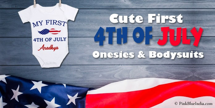 First 4th of July Onesie, Fourth of July Outfits, Bodysuit Gifts