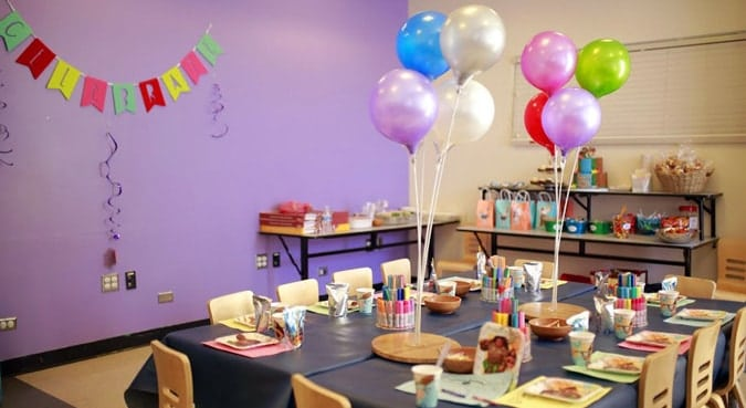 Decorate the Home, Kids Birthday Party lockdown