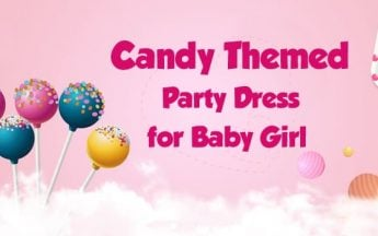 Best Candyland Themed Party Dress to wear on Birthday