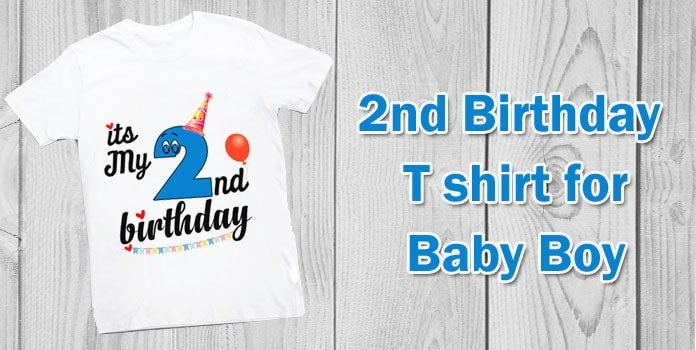 Baby Boy 2nd Birthday T shirt, Two year old birthday shirt